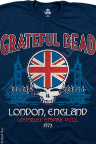 Grateful Dead London England Wembley Mens T Shirt