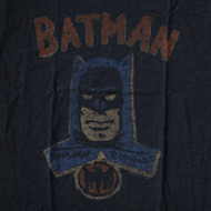 Junk Food Mens Batman in Charcoal Tri Blend T Shirt