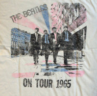 The Beatles on Tour Womens Weekend T Shirt by Junk Food Clothing