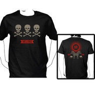 The Melvins 3 Skulls Mens Tee Shirt