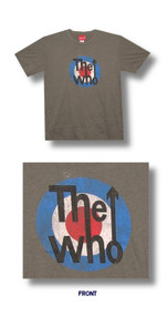 The Who Vintage Target Cotton Mens Tee Shirt