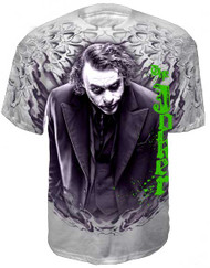 Batman The Joker Dark Knight Mens Tee Shirt