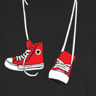 Step Brothers Hanging Sneakers Tee Shirt