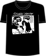 Sonic Youth Black Goo Mens Tee Shirt