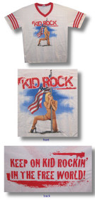 Kid Rock Stripper Soccer Jersey Shirt
