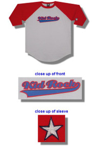 Kid Rock Embroidered Logo Baseball Jersey