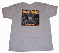 Mens Run DMC Its Like That Tee Shirt by Junk Food Clothing