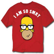 The Simpsons Homer I Am So Smart Mens Tee Shirt