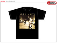 Bon Jovi Self Titled LP Mens Tee Shirt