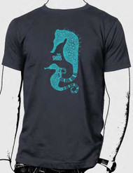 The Shins Sea Horse Mens Tee Shirt