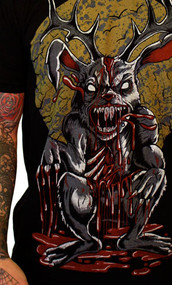 Gnarly Jackalope Mens Tee Shirt