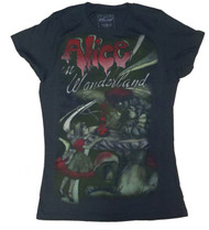Alice In Wonderland Juniors TShirt