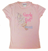 Carvel Swirly Girl Juniors TShirt