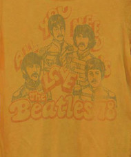 The Beatles All You Need Is Love Womens T Shirt by Junk Food Clothing