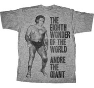 Andre the Giant Eight Wonder of the World Adult Tee Shirt