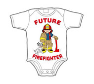 Future Firefighter Infant Snapsuit