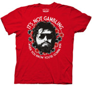 The Hangover Its Not Gambling Mens Tee Shirt
