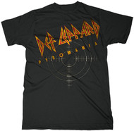 Def Leppard On Target Mens Tee Shirt
