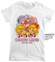 Vintage Style Candyland Adventure Womens Tee Shirt