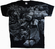 Transformers All Over Mens Tee Shirt