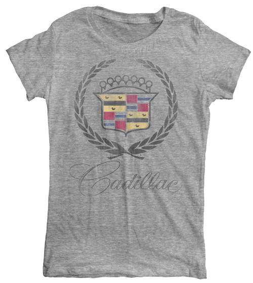 Vintage Style GM Cadillac Womens Tee Shirt
