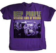 Deep Purple Strange Kind of Woman Mens T-Shirt