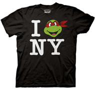 Teenage Mutant Ninja Turtles I Love New York Mens T-Shirt