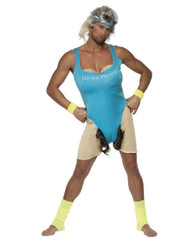 Lets Get Physical Mens Costume