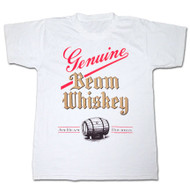 Jim Beam Genuine Whiskey White T Shirt