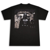Star Wars Ready For Battle Darth Vader Black Graphic Tee Shirt