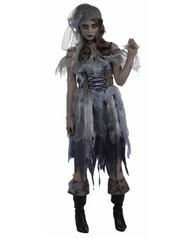 Zombie Pirate Womens Costume