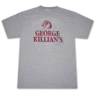 Killians Irish Red Faded Logo Heather Grey Graphic T Shirt