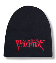 Bullet For My Valentine Red Logo Beanie