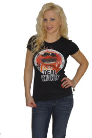 The Muppets Animal Deal With It Ladies T Shirt