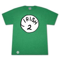 Dr. Seuss Inspired Irish 2 Bottle Opener Green Graphic Tee Shirt