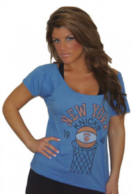 Junk Food NBA New York Knicks 1946 Ladies T-Shirt