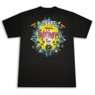 Drake Lightdreams Nightmares Tour Black Graphic T Shirt