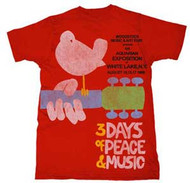 WOODSTOCK UPSTATE '69 MENS EXTRA LIGHTWEIGHT TEE SHIRT