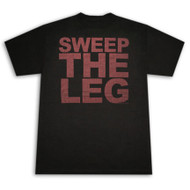 Karate Kid Sweep The Leg Black Graphic Tee Shirt