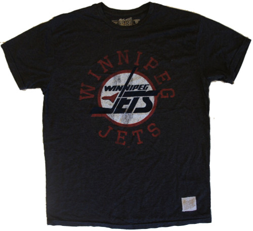 Vintage NHL Winnipeg Jets Hockey Mens Heather Shirt