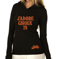 J'ADORE GIROUX LIGHTWEIGHT WOMENS THERMAL HOODY