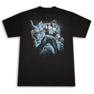 Bane Lightning Mens Black T-Shirt