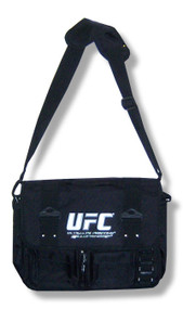 UFC Silver Logo Messenger Bag