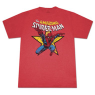 Spiderman Amazing Spiderman Star T-Shirt
