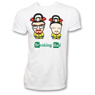 Breaking Bad Cartoon Characters T-Shirt