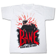 Bane Blood Shed Dark Knight Rises Mens T-Shirt