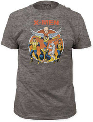MARVEL TEES X-MEN - THE ORIGINAL X-MEN MENS FITTED JERSEY TEE