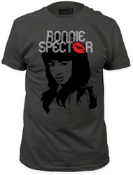 RONNIE SPECTOR CLASSIC KISS MENS FITTED JERSEY TEE