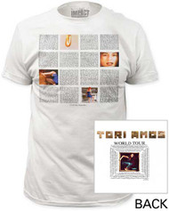 TORI AMOS LITTLE EARTHWAKES MENS FITTED JERSEY TEE