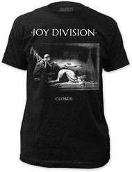 JOY DIVISION CLOSER MENS FITTED JERSEY TEE